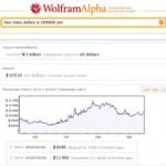 Buscador última generación WolframAlpha